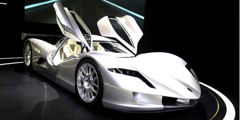 De vijf duurste elektrische auto's