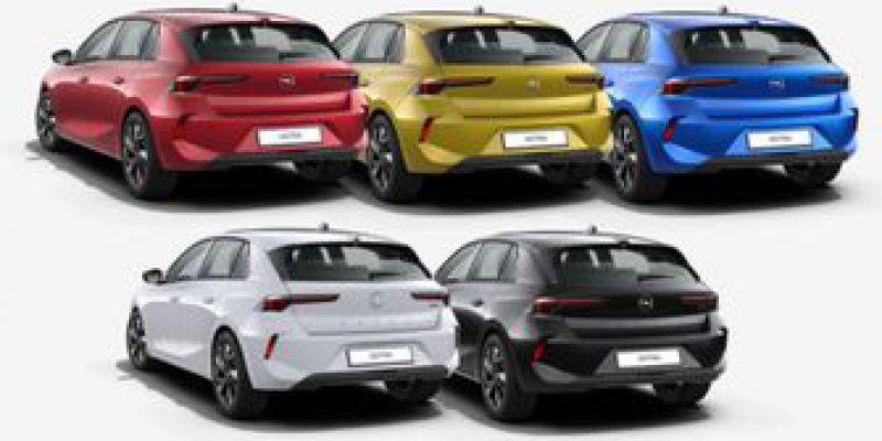 Duik in de prijslijst: nieuwe Opel Astra samenstellen